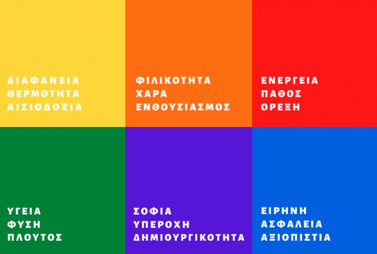 Ψυχολογία χρωμάτων ιστοσελίδας