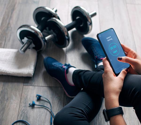 δημιουργία fitness app
