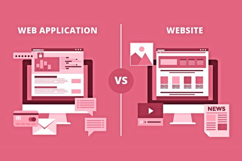 Διαφορές ιστοσελίδων και web εφαρμογών