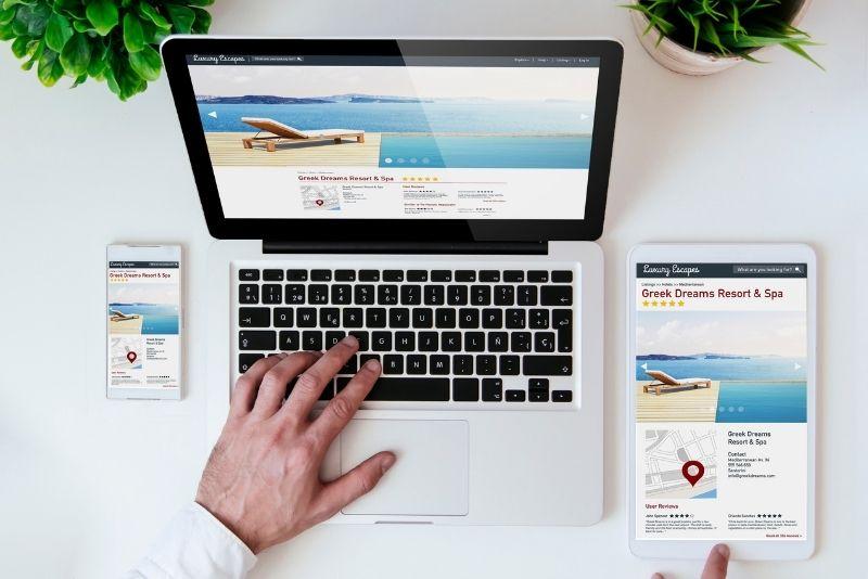 Δημιουργία ιστοσελίδας ξενοδοχείου
